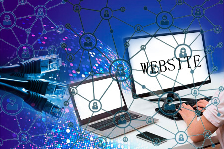 网站服务器方面