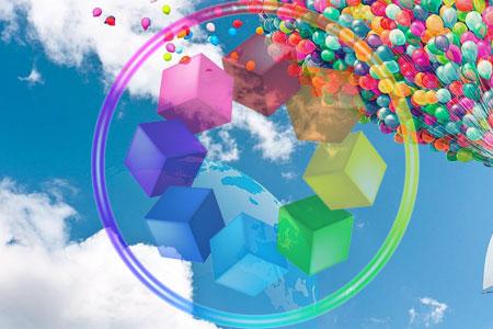 网站颜色视觉效果